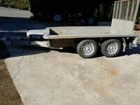 Ifor William's plant trailer