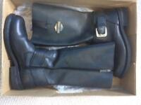 Hunters Motorcycle Boots Ladies size UK 7