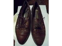 Littlewoods Brown Leather Upper - Size 6