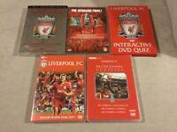 Liverpool Fc dvd's x 5