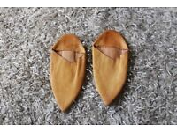 Moroccan Slippers Full Leather