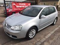 2008 VW GOLF TDI MATCH, 1 YEAR MOT, 77000 MILES, WARRANTY, NOT A3 ASTRA FOCUS MEGANE 308