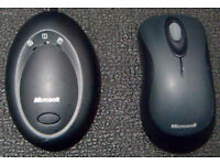 Used Microsoft Standard Wireless Optical Mouse 1025, USB (in good condition)