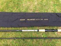 Shimano Alivio Match 390 Carbon Match Rod 12' 3 peice