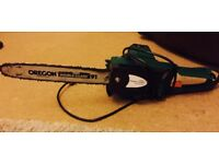 Electric chainsaw £25