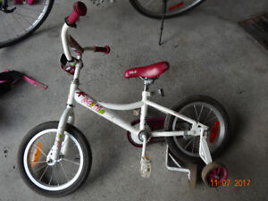 3 bicycle different   pour fille VELO