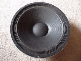 15 inch Peavey Black Widow bass PA speaker