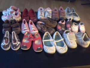 14 pairs of size 4&5C shoes