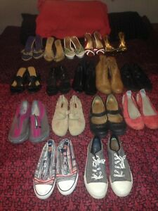 Size 9-11 heels, boots, and shoes
