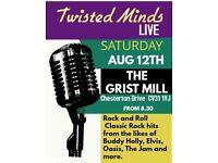 Twisted minds live