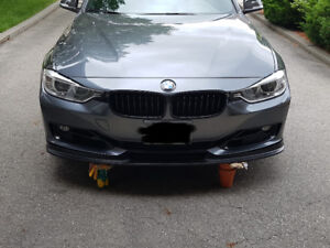 H Style front lip for BMW F30 320i, 328i, 335i non M package