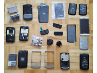 BlackBerry Spare Parts - Battery Covers Housings LCD Screens Chargers - Wholesale JobLot Shop Repair