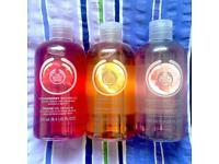 Body shop shower gels