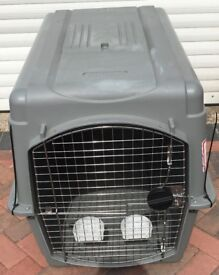 DOG CAGE/CRATE THIS IS THE TYPE THEY USE ON AERO PLANES PET MATE SKY KENNEL ULTRA