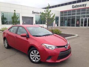 2015 Toyota Corolla LE, Heated Seats, Backup Cam, Bluetooth