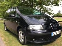 2006 SEAT ALHAMBRA 1.9 DIESEL AUTOMATIC, LONG MOT !!!! *** 7 SEATER *** !!!!