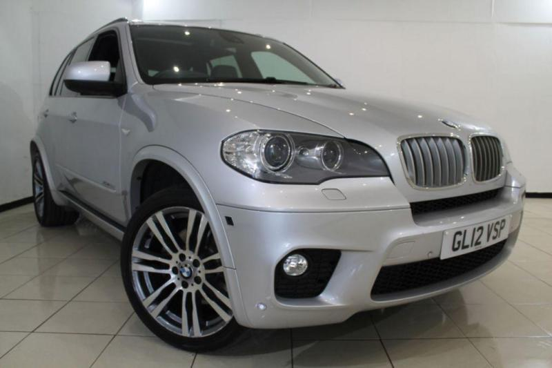 2012 12 BMW X5 3.0 XDRIVE40D M SPORT 5DR AUTOMATIC 302 BHP DIESEL