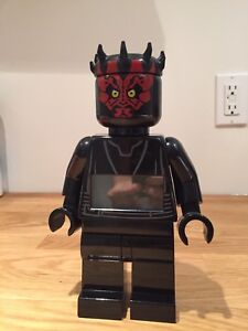 Lego Darth Maul Alarm Clock