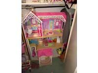 Kiddikraft Barbie mansion