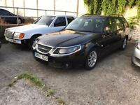 2008 Saab 95 1.9TiD Estate, Rear Damaged, Great Condition