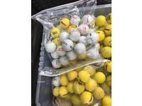 Golf Balls - Practise, mixed Brands