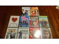 DVD bundle 10 items