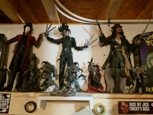 Johnny depp 18 inch figure combo