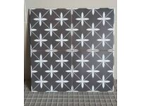 Poole black floor and wall tiles £14.99 per sqm!!!