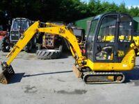 JCB 8018 2 Tonne Mini Digger