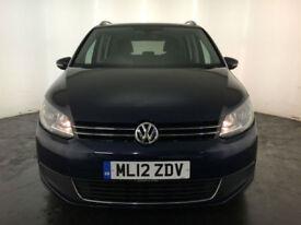 2012 VOLKSWAGEN TOURAN SE BLUE TECH TDI 1 OWNER VW SERVICE HISTORY FINANCE PX