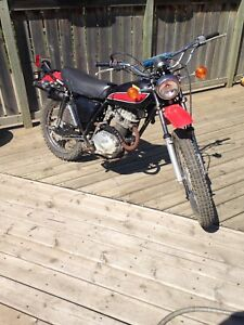 Honda xl175 enduro