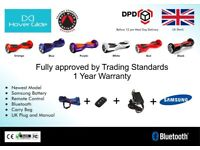 Segway / Balance Board / Hover Board - NEW - Bluetooth, Samsung Battery, Remote Control, Carry Bag