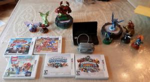 Ensemble nintendo 3DS+5 jeux 3DS