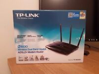 TP-Link N600 Wireless Dual Band Gigabit ADSL2+ Router