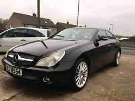 Mercedes cls500 with exhaust upgraded