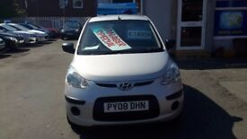 Hyundia i10 low miles can come with a 3 months warranty