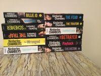Paper back books,