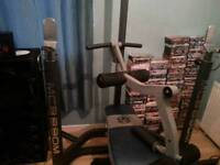 Marcy Olympic multi gym bench