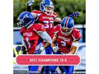 Play American Football in Brighton - Sussex Thunder AFC