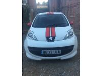 Peugeot 107 sport xs 3dr hatchback need sold quick