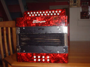 accordéon  Tempo