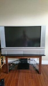 "Hitachi 42"" LCD with stand"