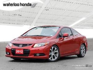 2012 Honda Civic Si 160,000 km Honda Warranty!