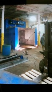 Industrial Paint Booth / Powder Coat oven - AWESOME DEAL