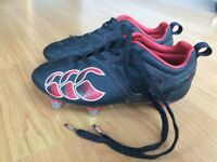 Canterbury Boys Rugby boots size 13