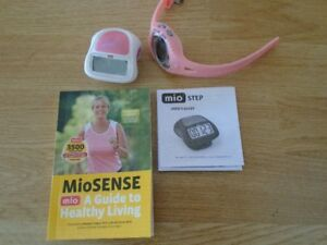 Pedometer and Watch set with Instructions for sale
