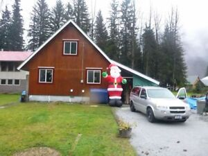 STEWART, BC - House for sale or for rent - October 1st