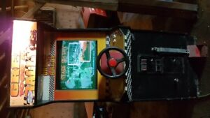 Great 1000 Mile Rally coin operated or free video gaming machine