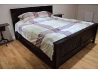 Super-king size bed and mattress for sale as new condition