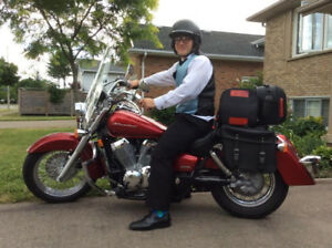 2012 Honda Shadow w ABS/ Mustang & stock seats/ Fuel Injection